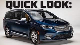 Quick Look at a Great...Minivan? | 2021 Chrysler Pacifica Walkthrough | MotorTrend by Motor Trend