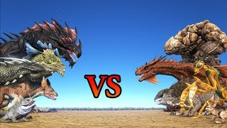 ABERRATION vs SCORCHED EARTH Creatures || ARK: Survival Evolved