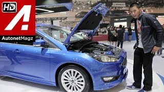 Video FI Review New Ford Focus EcoBoost 1.5 facelift 2015 from GIIAS 2015 MP3, 3GP, MP4, WEBM, AVI, FLV November 2017