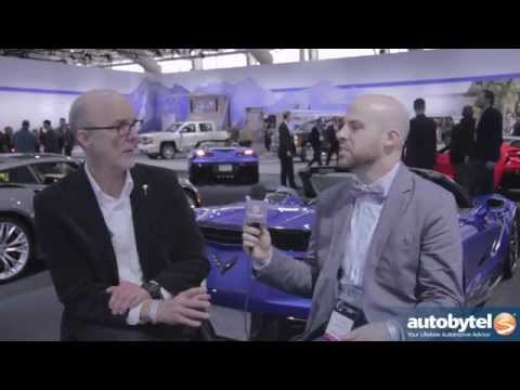 GM's Tom Peters Talks Design with Autobytel at the 2014 New York Auto Show