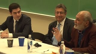 Discussion on Armenian-American & Russian relations at Columbia University