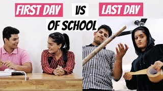 Video First Day VS Last Day Of School! MP3, 3GP, MP4, WEBM, AVI, FLV Maret 2019