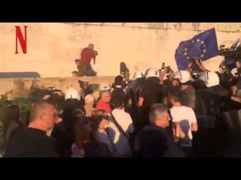 Βίντεο από την συγκέντρωση Μένουμε Ευρώπη