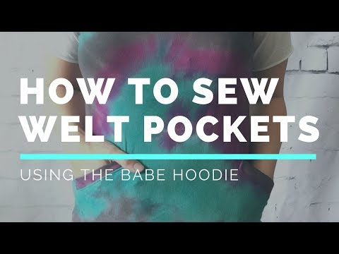 Video How to Sew A Single Welt Pocket | DIBY Club download in MP3, 3GP, MP4, WEBM, AVI, FLV January 2017