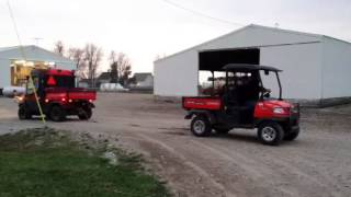 2. Turbo'd Kubota RTV 1100 vs. Stock Kubota RTV 900