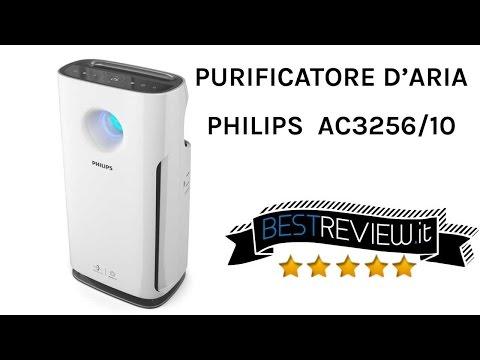Recensione Philips AC3256/10 Purificatore d'Aria con Filtro Hepa e Carboni Attivi