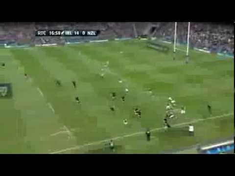 Rob Kearney's try v New Zealand