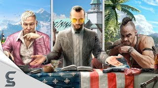 Far Cry has been one of the greatest series ever since it's first release in 2004. Far cry has sold over 30 million units worldwide and continues to be one of the top selling franchises of all time. This video will focus on the evolution of Far Cry, in terms of Graphics, from the years 2004 – 2018 while showing you some amazing facts that you probably didn't know about. If you enjoyed this video like, share, subscribe and make sure to leave a comment down below and tell me what you think about the Far Cry series.--------------------------------------------------------------------------------------------------------------Music:Track 1: https://youtu.be/1pNVgVHKv2MTrack 2: https://youtu.be/fRXeO5JpFxM--------------------------------------------------------------------------------------------------------------Video Game Systems:Playstation 3Playstation 4XboxXbox 360Xbox onePCNintendo WiiVideo Games Used in This Video:Far Cry (2004)Far Cry 2 (2008)Far Cry 3 (2012)Far Cry 3: Blood Dragon (2013)Far Cry 4 (2014)Far Cry Primal (2016)Far Cry 5 (2018)Far Cry 5 TrailerFar Cry 5 GameplayFar Cry 5 walkthroughFar Cry 5 gameplay trailerFar Cry 5 e3 trailerFar Cry 5 weaponsFar Cry 5 easter eggsFar Cry historyFar Cry evolutionFar Cry gameplay