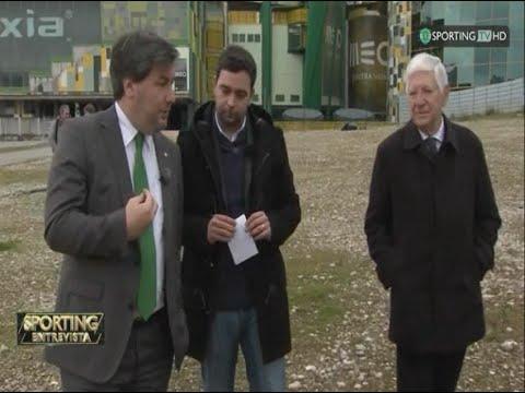 VIDEO: Bruno de Carvalho em entrevista sobre A Cidade Sporting – Sporting TV (26/03/2015)
