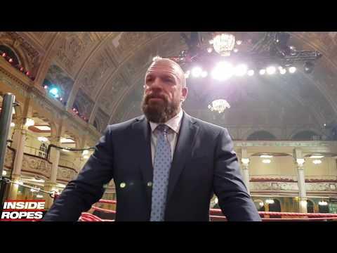 Triple H TALKS Vince McMahon NXT UK Chant, WALTER vs Pete Dunne & More