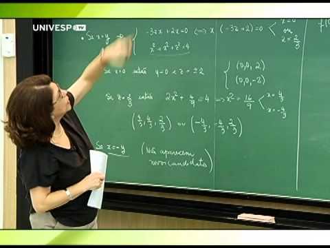Cálculo II - Aula 25 - Parte 1 - Resolução de exercícios da lista 3