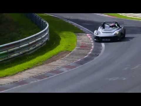 Lotus 3-Eleven - Premiers tours de roues