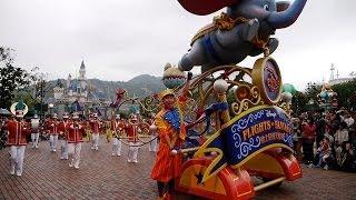 迪士尼飛天巡遊|Hong Kong Disneyland 2014《Flights of Fantasy Parade》FHD1080p