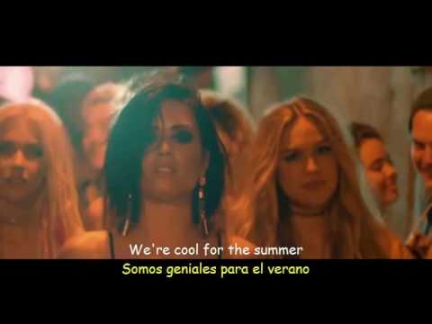 Demi Lovato - Cool for the Summer (Lyrics & Sub Español) Official Video