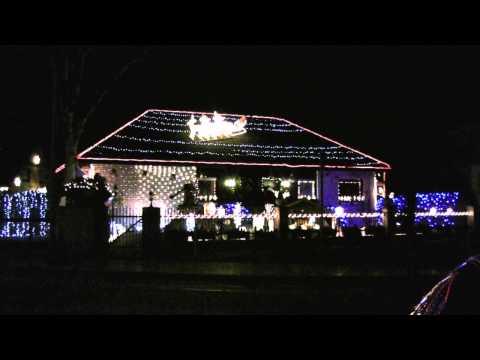 Weihnachtshaus in Berlin Lichtenrade 2011