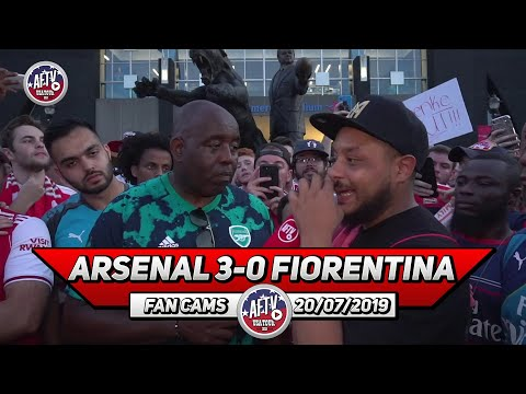 Arsenal 3-0 Fiorentina | Lacazette Should Be Captain! (Troopz)