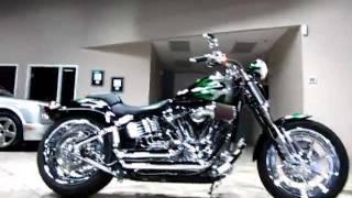 6. 2009 Harley-Davidson SCREAMIN' EAGLE SPRINGER SOFTAIL FXSTSSE C7082B