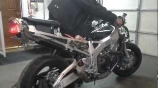 9. 1997 Honda CBR 900RR Backfiring Shooting Flames