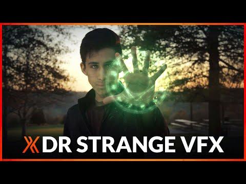 Doctor Strange VFX - Shield & Vortex tutorial | HitFilm Pro