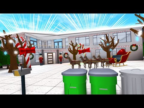 ROBLOX Bloxburg CHRISTMAS Mansion!!!