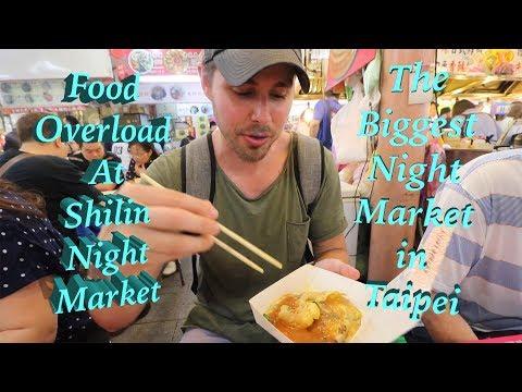 LEGENDARY Shilin Night Market - An OVERLOAD of FOOD!!! - Thời lượng: 14 phút.