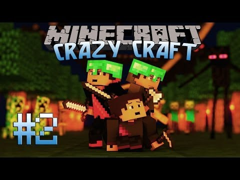 Minecraft: Crazy Craft Adventure! Episode 2 – THE FUNNY HATS!!