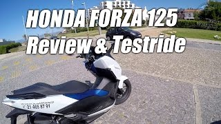 10. Honda Forza 125 Review & Testride!