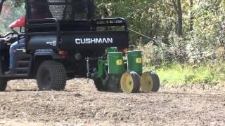 6. UTV Hitchworks - Cushman 1600 XD Using the Farmboy LD with a 2-Row Planter