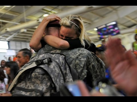 Soldiers Coming Home Surprise Compilation 8