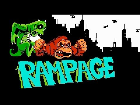 rampage nes ending