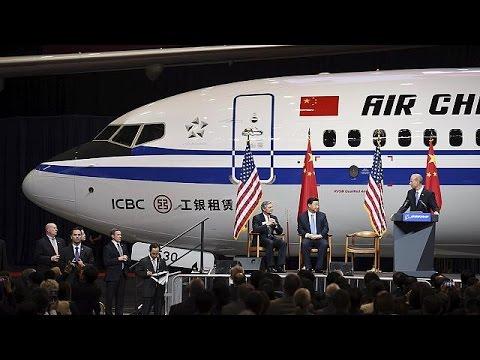 Boeing: Παραγγελίες δεκάδων δισεκατομμυρίων δολαρίων από την Κίνα