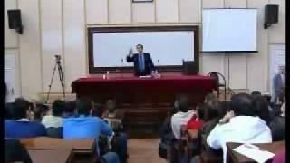 OSMAN PAMUKOĞLU konferans istanbul universitesi bolum 4