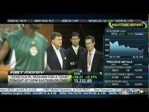 sonicsgate - CNBC Fast Money discusses the national release of