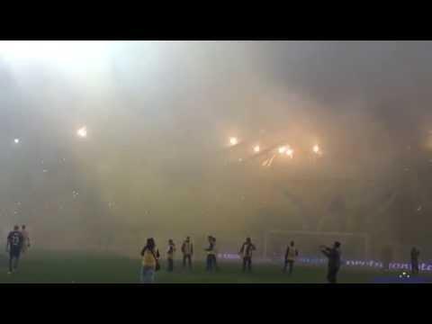 """Video - """"Recibimiento"""" Rosario Central vs Sarmiento - 2015 - Los Guerreros - Rosario Central - Argentina"""