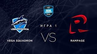 Vega vs RMP, game 1