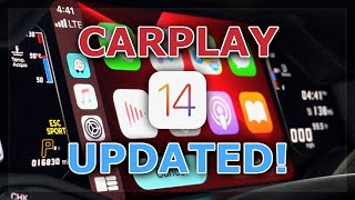 First LOOK: Apple CarPlay iOS 14 in my Lamborghini--New FEATURES! by DoctaM3's Supercars Personified