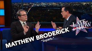 Video Matthew Broderick Nails His Donald Trump Impression MP3, 3GP, MP4, WEBM, AVI, FLV Juli 2018