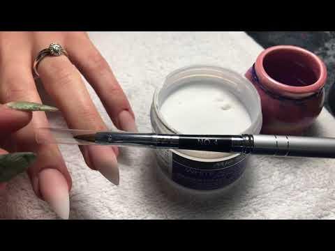 Uñas acrilicas - Uñas Acrílicas Baby Boomer / Ombre  Nails Flores En 3D