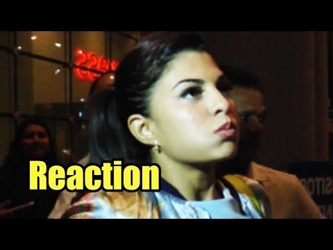 Jacqueline Fernandez' REACTION When Her Flight Was