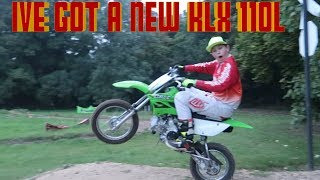 9. I'VE GOT A BRAND NEW 2017 KLX 110L PIT BIKE !!!