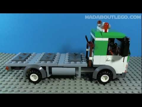 truck - Another great set for your Lego city. A very playable set and goes really well with the rest of the city trucks as you will see. £25 $30 €30 Music Captin Cra...