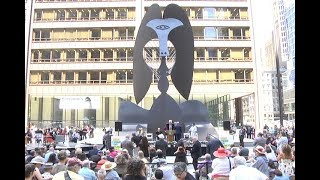 As part of the 2017 Year of Public Art, the city of Chicago celebrates the 50th anniversary of the Chicago Picasso with a re-staging of the 1967 unveiling.  This program was recorded by Chicago Access Network Television (CAN TV).