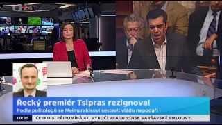 Řecký premiér rezignoval