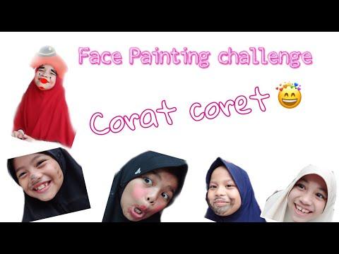 Face painting challenge || corat coret