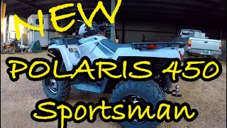 "3. NEW POLARIS 450 SPORTSMAN ""Utility Edition ""🤔🤔🤔at Hollis Farms"