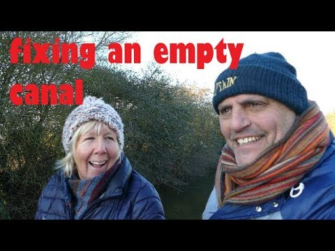 Refilling A Lock Pound On Our Narrowboat On The Grand Union Canal - Episode 38