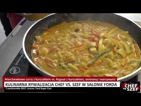 Wideo1: Gotowanie w salonie Forda. Czyja potrawka lepsza? Zobacz i zrób sam!