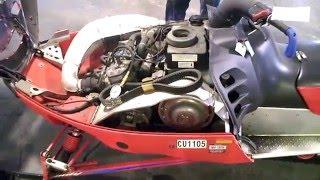 4. LOT 1758A 2001 Polaris XCSP 500 VES Engine Compression Test