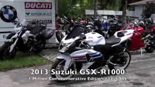 4. Pre-Owned 2013 Suzuki GSX-R1000 1 Million Commemorative Edition #33 at Euro Cycles of Tampa Bay