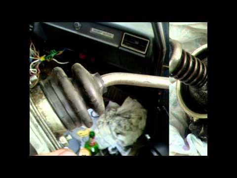 Замена рычага коробки передач ваз 21213 фото